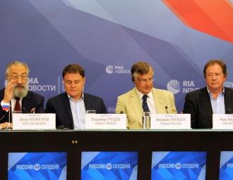 Пресс-конференция участников экспедиции «Арктика-2007», 3 августа 2017 года