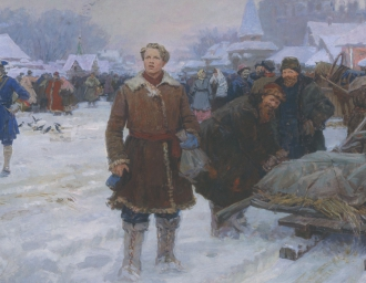 """""""Ломоносов в Москве"""". А.И. Васильев"""