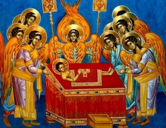 Младенец Христос на жертвеннике. Иконография Евхаристии