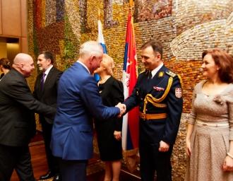 Прием в посольстве Сербии, 15 февраля 2019 года