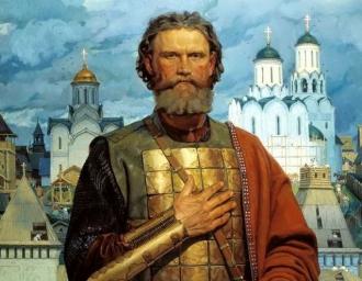 «Святой благоверный великий Московский князь Дмитрий Донской». В.В. Маторин