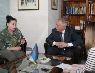 Валерия Байкеева в редакции МР, 24 мая 2017 года