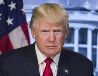 45-й президент США Дональд Трамп
