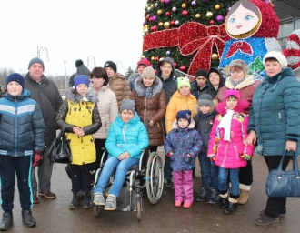 Подопечные «Ростка» посетили Москву, 25 декабря 2016 года