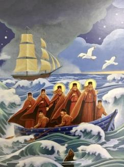 Миссионеры плывут на Аляску