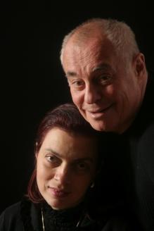 С супругой Татьяной