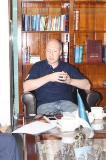 Алексей Лебедев в редакции МР, 19 сентября 2017 года