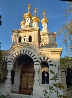 Крестовоздвиженский собор Западно-Европейской епархии РПЦЗ. Женева