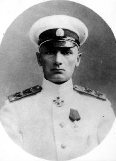 Вице-адмирал, командир минной дивизии (1915−1916) А.В. Колчак