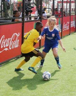 Команда U-15 на турнире в ЮАР