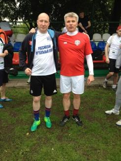 Алексей Лебедев с министром спорта Павлом Колобковым