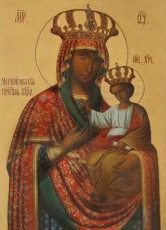 Икона Черниговской- Гефсиманской Божией Матери