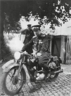 А. Матвеев, начальник ОКР «Смерш» 47-й стрелковой дивизии