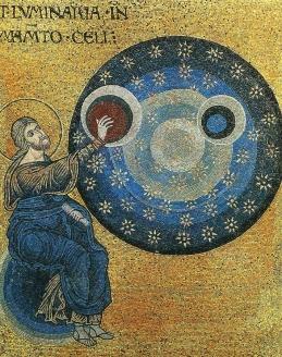 Господь творит светила. Мозаика