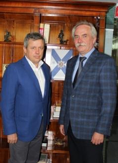 А.В. Мацкевич и Н.А. Кузнецов, 3 июля 2018 года