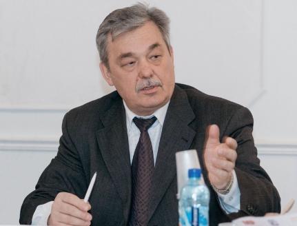 Секретарь Союза журналистов Москвы В.И. Черёмухин