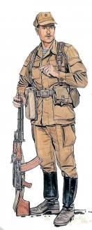 Рядовой ВДВ. Афганистан. Середина 80-х гг.