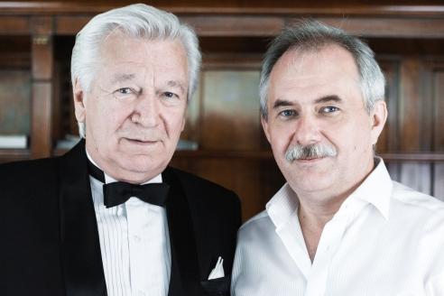 Аристарх Ливанов с генеральным директором МР Кузнецовым Н.А.