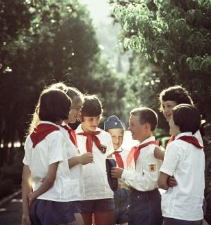 IX Всесоюзный слёт пионеров в «Артеке». 1987 г.
