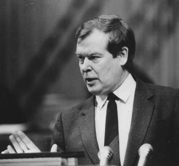 Председатель КГБ СССР В. Бакатин