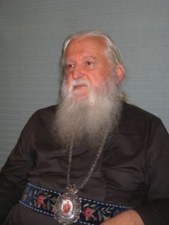 """Владыка Михаил в редакции журнала """"Мужская работа"""", 2011 г."""