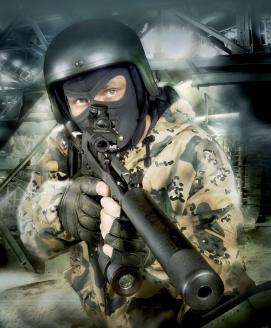 """12,7-мм крупнокалиберная снайперская винтовка (ВССК) """"Выхлоп"""". Россия"""