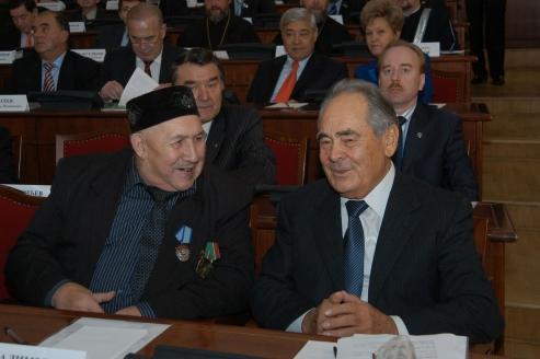 С Асхатом Галимзяновым - легендарным благотворителем Татарстана