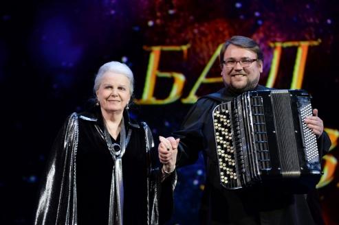 Элина Быстрицкая с Д.Дмитриенко
