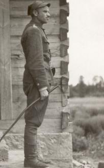 Командир всех лесных отрядов Белостокского округа АКО, майор З. Шендзеляж