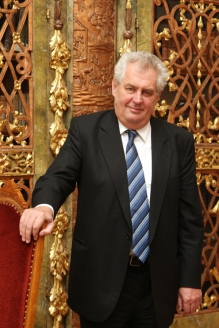 Милош Земан - президент Чехии
