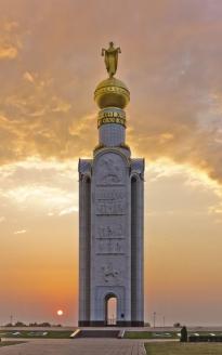 Храм-звонница в память битвы на Курской дуге 1943 г., с. Прохоровка, Белгородская область