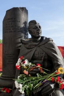 Памятник фронтовым журналистам у Центрального дома журналистов. Москва