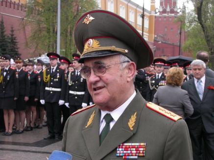 Расим Сулейманович Акчурин - Директор Центра военно-патриотического и гражданского воспитания г. Москвы. Генерал-полковник