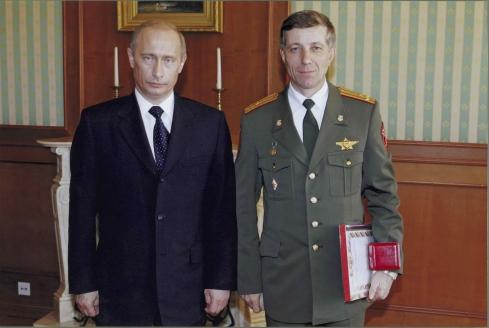 С В.В. Путиным