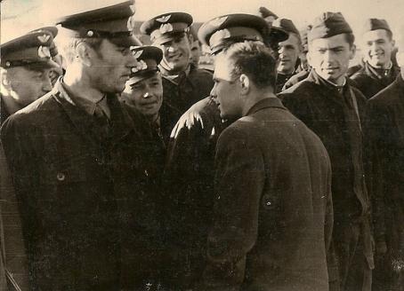С Ю.А. Гагариным, август 1961 г.
