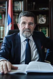 Чрезвычайный и Полномочный Посол Республики Сербия в Российской Федерации и Туркменистане Славенко Терзич