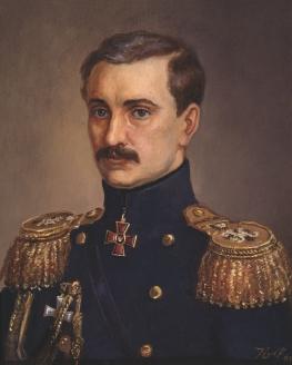 """""""Вице-адмирал В.А. Корнилов"""". Неизвестный художник"""