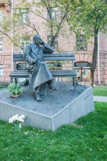 Памятник С. Михалкову. Москва. 2014 г.