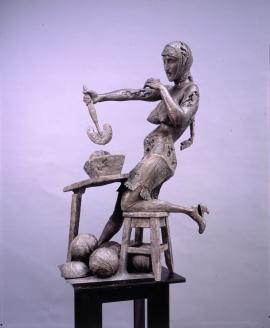 """""""Женщина, рубящая капусту"""". 2007 г."""