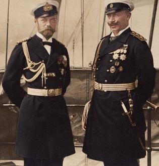 Николай II и Вильгельм II