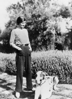 Коко Шанель в тельняшке. 1917 г.