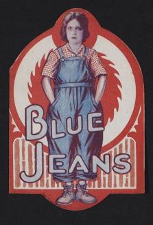 Реклама джинсового комбинезона. 1917 г