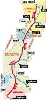 Проект переброски части западносибирского речного стока. Начало 1970‑х гг.