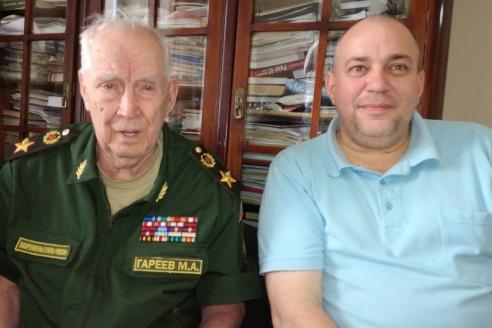 М.А. Гареев и Д.А. Сурмило