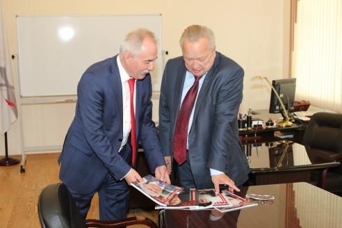 Н.А. Кузнецов и В.Г. Матюхин, 31 мая 2017 года