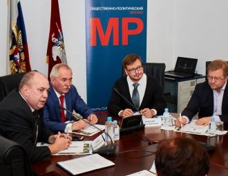 Участники круглого стола в Московском доме национальностей