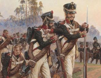 Русские гренадеры. 1812 г.