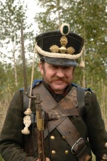 Владимир Трипаков, член Военно-исторического клуба «Фельдъегерь»